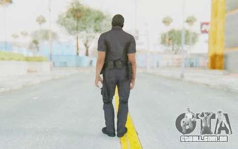 CoD BO2 LAPD v2 para GTA San Andreas terceira tela