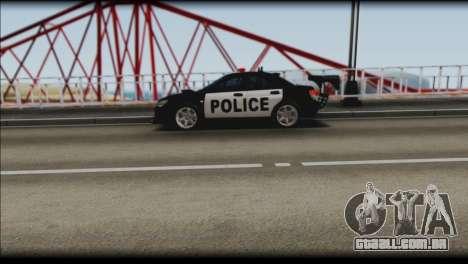 Subaru Impreza WRX STi Police Drift para GTA San Andreas vista direita