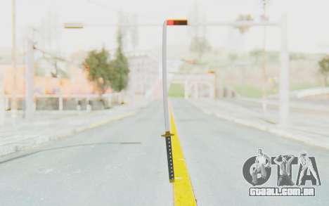 APB Reloaded - Katana para GTA San Andreas segunda tela