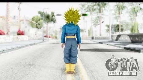 Dragon Ball Xenoverse Future Trunks SSJ2 para GTA San Andreas terceira tela