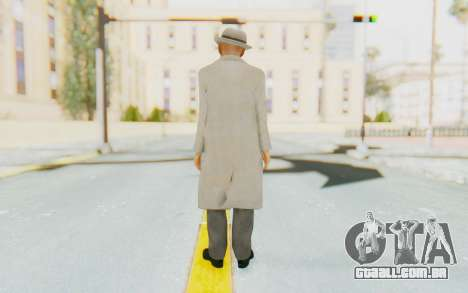 Mafia 2 - Jimmy Vendetta White Suit para GTA San Andreas terceira tela
