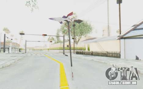 Levia Weapon para GTA San Andreas terceira tela
