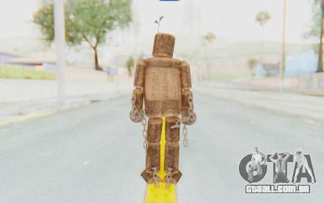 Mokujin para GTA San Andreas terceira tela