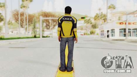Dead Rising 3 Nick Ramos on Chucks Outfit para GTA San Andreas terceira tela