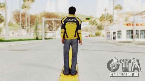 Dead Rising 3 Nick Ramos on Chucks Outfit para GTA San Andreas terceira tela