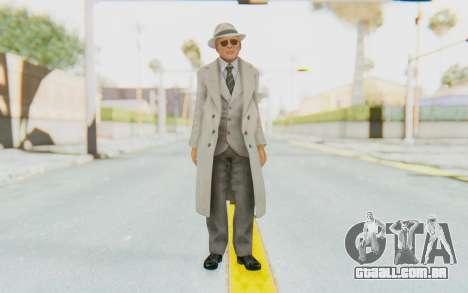 Mafia 2 - Jimmy Vendetta White Suit para GTA San Andreas segunda tela