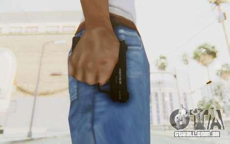 GTA 5 Shrewsbury SNS Pistol para GTA San Andreas