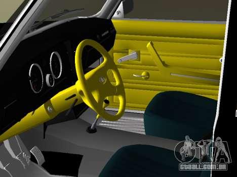 VAZ 2105 para GTA Vice City vista traseira esquerda