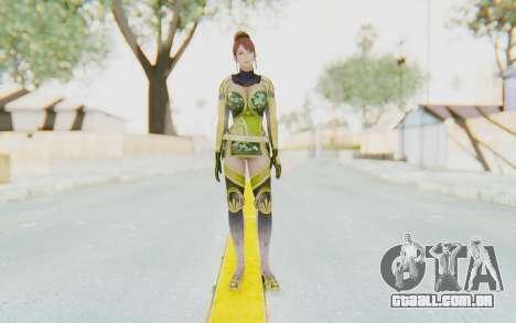 Dynasty Warriors 7 - Lian Shi v2 para GTA San Andreas segunda tela