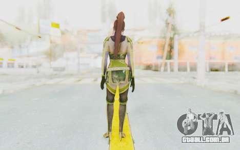 Dynasty Warriors 7 - Lian Shi v2 para GTA San Andreas terceira tela