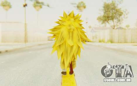 Dragon Ball Xenoverse Goku Kid GT SSJ3 para GTA San Andreas terceira tela