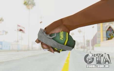 APB Reloaded - Grenade para GTA San Andreas