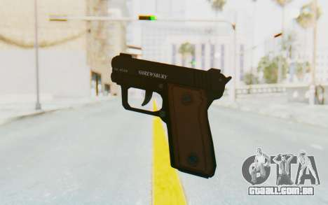 GTA 5 Shrewsbury SNS Pistol para GTA San Andreas terceira tela