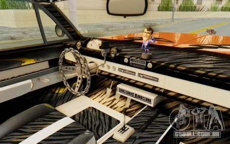 GTA 5 Declasse Voodoo Alternative v1 PJ para GTA San Andreas vista interior