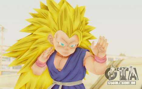 Dragon Ball Xenoverse Goku Kid GT SSJ3 para GTA San Andreas