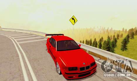 Kagarasan Pista para GTA San Andreas sexta tela