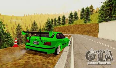 Kagarasan Pista para GTA San Andreas terceira tela