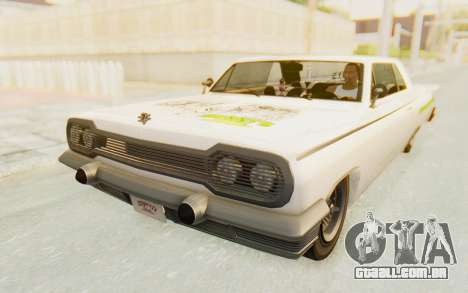 GTA 5 Declasse Voodoo Alternative v1 PJ para vista lateral GTA San Andreas
