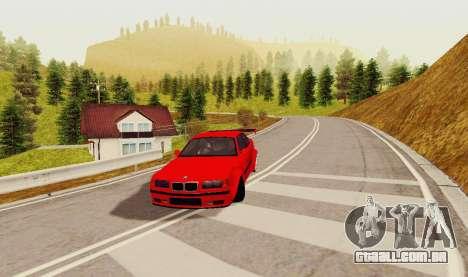 Kagarasan Pista para GTA San Andreas segunda tela