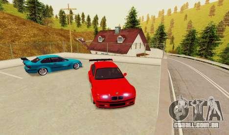 Kagarasan Pista para GTA San Andreas por diante tela