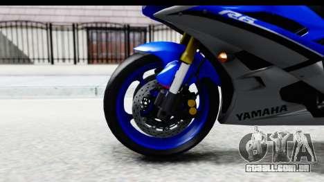 Yamaha YZF-R6 2006 with 2015 Livery para GTA San Andreas vista traseira
