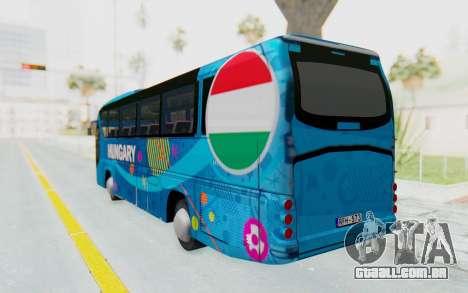 Neoplan Euro 2016 Hungarian Bus para GTA San Andreas esquerda vista