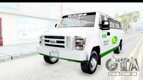 Ford Econoline 150 para GTA San Andreas vista traseira