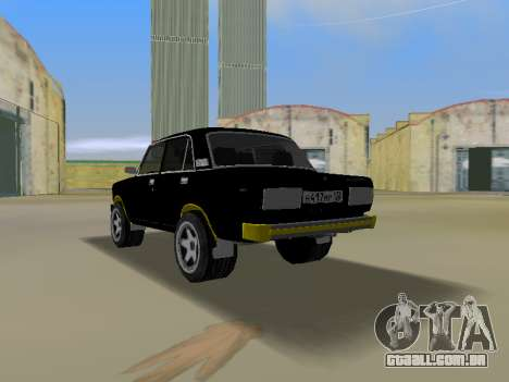 VAZ 2105 para GTA Vice City deixou vista