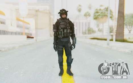 Federation Elite Assault Tactical para GTA San Andreas segunda tela