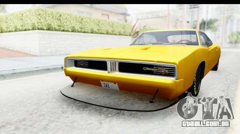 Dodge Charger 1969 Max Speed para GTA San Andreas