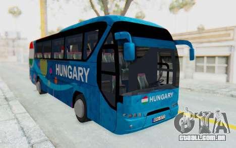 Neoplan Euro 2016 Hungarian Bus para GTA San Andreas vista direita