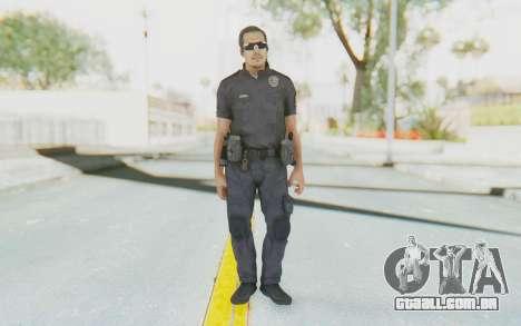 CoD BO2 LAPD v2 para GTA San Andreas segunda tela