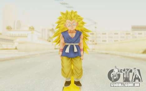 Dragon Ball Xenoverse Goku Kid GT SSJ3 para GTA San Andreas segunda tela