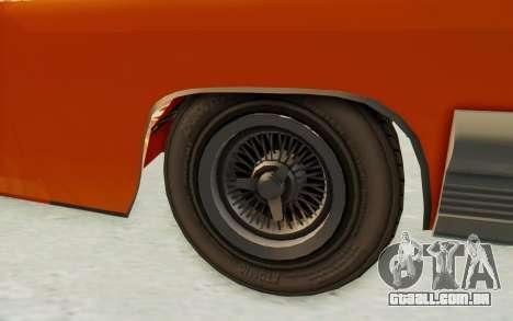 GTA 5 Declasse Voodoo Alternative v1 PJ para GTA San Andreas vista traseira
