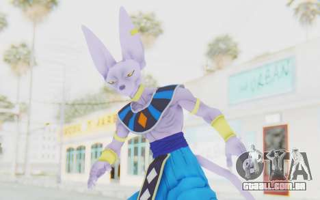 Dragon Ball Xenoverse Beerus para GTA San Andreas