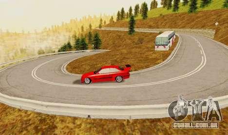 Kagarasan Pista para GTA San Andreas quinto tela