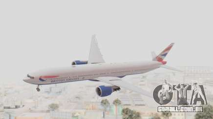 Boeing 777-300ER British Airways para GTA San Andreas