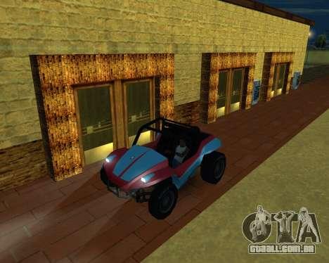 A Nova Estação para GTA San Andreas quinto tela