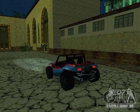 A Nova Estação para GTA San Andreas segunda tela