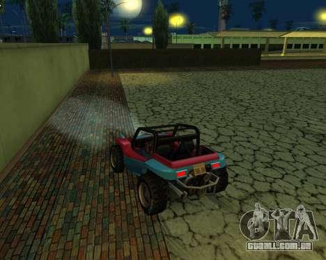 A Nova Estação para GTA San Andreas terceira tela