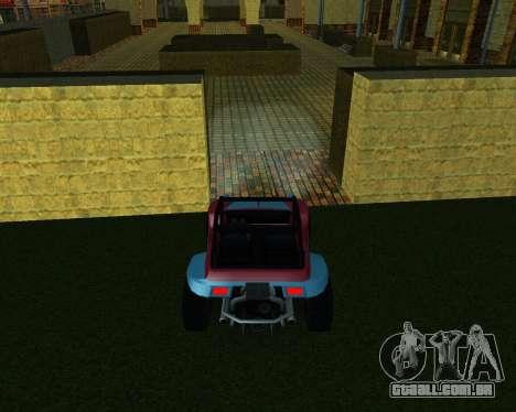 A Nova Estação para GTA San Andreas sexta tela
