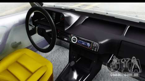 Fiat 131 Panorama para GTA San Andreas vista interior