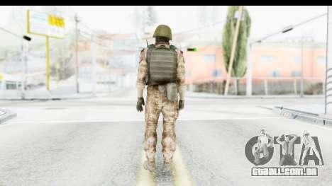 Global Warfare Turkey para GTA San Andreas terceira tela