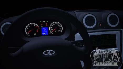 Lada 2190 (Granta) Sport para GTA San Andreas vista direita