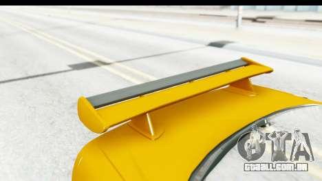 NFSU Eddie Nissan Skyline para GTA San Andreas vista interior