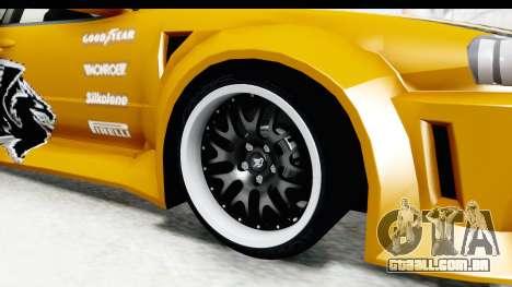 NFSU Eddie Nissan Skyline para GTA San Andreas vista traseira