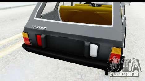 Fiat 131 Panorama para vista lateral GTA San Andreas