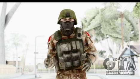 Global Warfare Turkey para GTA San Andreas