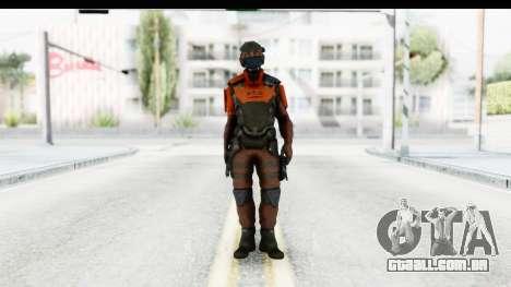 Homefront The Revolution - KPA v4 Red para GTA San Andreas segunda tela