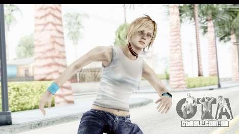Silent Hill 3 - Heather Sporty White Base para GTA San Andreas